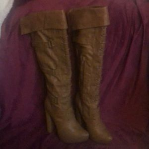 Shoes - High Tan boot